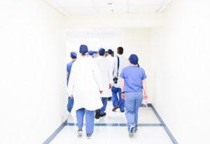 nurses and doctors