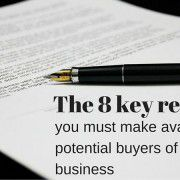 The 8 key reports you must make available to potential buyers of your business